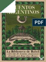 [La Biblioteca de Babel 30] AA. VV. - Cuentos argentinos [18674] (r1.0).epub
