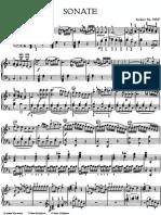 Mozart Piano Sonata k547a