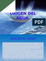 Origen Del Agua 1