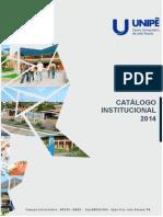 Catalogo Unipe 2014