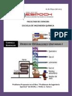 DEBER 9. Ejercicio de Destilación OCON, ToJO