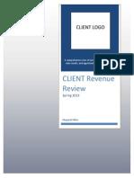 revenue analysis