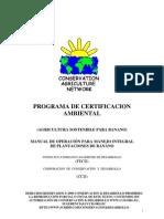 Manual de Operacion Para Manejo Integral de Plantaciones de Banano 2001, Make a donation@ccd.org.ec / Haga una donación