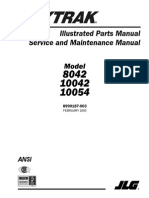 Parts Service Maintenance skytrack 8042-10042-10054