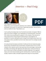 Delusional America — Paul Craig Roberts