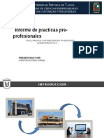 Practicas Expo practicas pre profesionales
