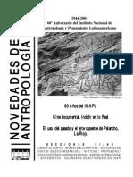 Novedades de Antropologia 50