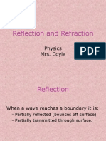 Reflection and Refraction .ppt