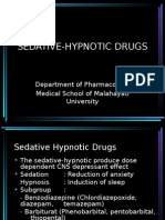 Sedative Hypnotic Drugs