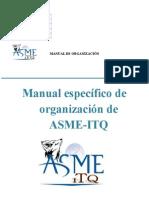 Manual de Organización de ASME-ITQ 2012