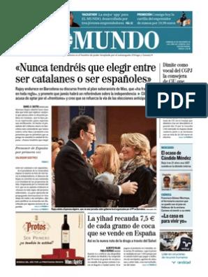 30 11 14 Mundo España Cataluña