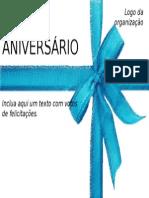 Modelo de Cartão PPT