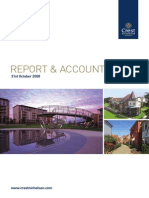 Crest Nicholson Holdings Annual Report (2008)