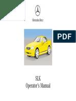 Slk r170 Manual