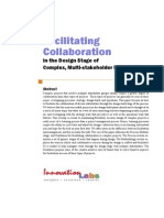 Facilitating Collaboration in the Design Stage of Complex, Multi-stakeholder Projects