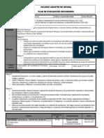 Plan Bimest Evaluación -4-3°2015