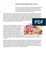 Los niños y aplicaciones de Maratones Parte 1 De 6