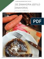 Hot Cakes de Zanahoria (Estilo Pastel de Zanahoria) - Pizca de Sabor