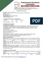 Ficha Tecnica Alcohol Isoamilico