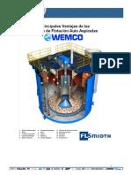 Ventajas celdas WEMCO