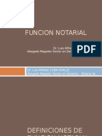 Funcion Notarial Parte 1 Dr Cuba-1