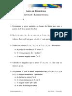 Eletromagnetismo - Lista de Exercicios