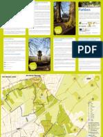 Wandelkaart Parkbos Gent