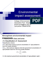 Part 4—Atmospheric Environmental Impact Assessment