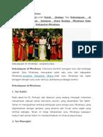 Kebudayaan Di Minahasa