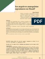 A Vida Dos Anarquistas contemporâneos no Brasil