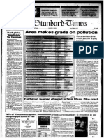 Area Makes Grade on Pollution