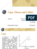 Caps, Floors and Collars