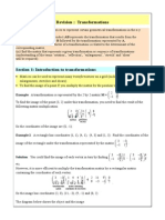Revision Matrices and Transformations Version 2