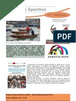Newsletter 17 - 18 Gennaio 2010