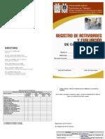 Registro de Actividades de Preinternado