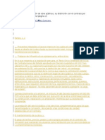 El Contrato de Ejecución de Obra Pública y Su Distinción Con El Contrato Por Servicios de Consultoría