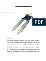 Moisture Sensor Arduino