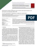 Cromatograma HPLC de P. Ginseng