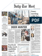 The Daily Tar Heel for Jan. 19, 2010