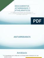Antiamibianos y Antihelminticos