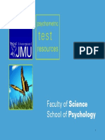 Psychometric Test Resources