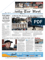 The Daily Tar Heel for Feb. 2, 2015