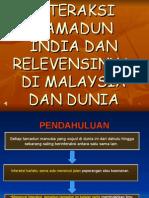 Interaksi Tamadun Dan Relevensinya Di Malaysia Dan Dunia[1]
