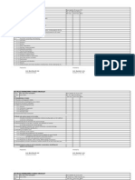 Dauis- Progress Checklist