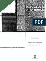 Laddaga Estetica de La Emergencia