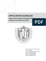 Application Guideline 2015