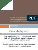 Podział Kanałów Dystrybucji