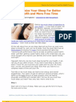 Optimize Your Sleep For Better Health and More Free Time