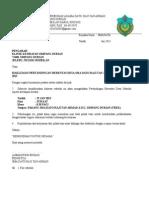 Surat Jemputan Sukan - KLINIK KESIHATAN SD