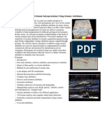 Advanced Seismic Interpretations Using Seismic Attributes Final Edit